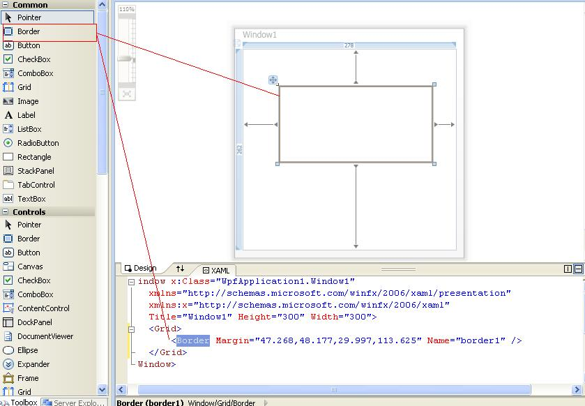 Drawing Grid Lines In Canvas Wpf : Border control in wpf